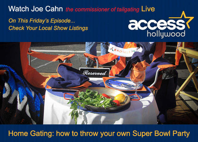 Tailgating : AccessHollywood